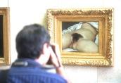 El origen del mundo. Courbet, Musée d'Orsay, París