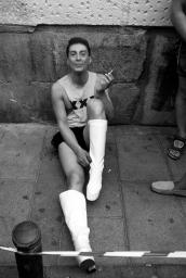 Fumando espero al hombre que yo quiero
