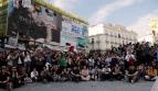 Peligro, las calles se llenan de ciudadanos