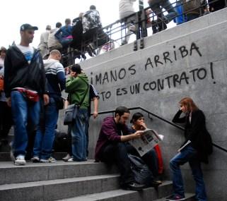 15 M de 2011en la Puerta del Sol de Madrid
