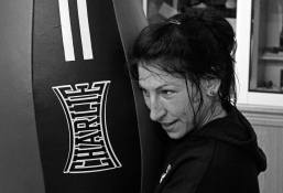 Miriam Gutiérrez, campeona de España, 64 Kg. Tiene dos hijos, trabaja de jardinera.
