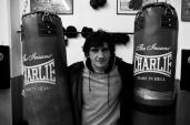 Jero García, campeón de España, 1999, de los medios.