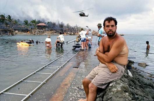 Coppola durante el rodaje de Apocalypse Now.