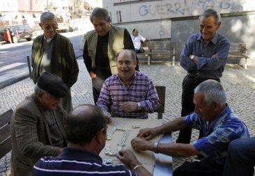 Dominó en La Alfama, Lisboa