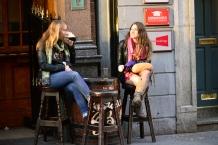 Exchequer Street, 6 pm, Dublin, Irish Republic