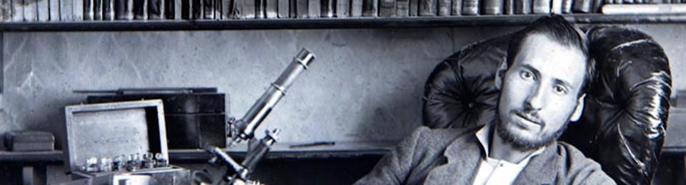 Santiago Ramón y Cajal aún estudiante, hacia 1876.