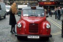 Taxidriver, London