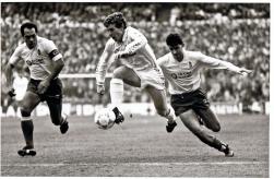El Buitre volaba. Partido de liga contra CD Las Palmas, Santiago Bernabeu, febrero, 1988