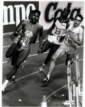 Cayetano Cornet (26), Palacio de los Deportes, Madrid, febrero, 1988.