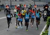 Cabeza de carrera, Maratón de Madrid, 2011.