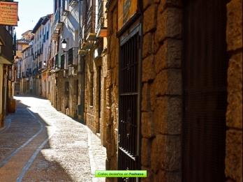 Calles vacías en Pastrana