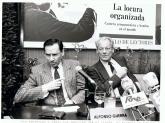 Willy Brandt fue brigadista en la Guerra Civil. La foto recoge un momento de su intervención con motivo del quinto aniversario de la subida al poder del PSOE, en Madrid, 1987.