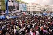 El 15M en la Puerta del Sol