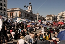 El 15 M en la Puerta del Sol