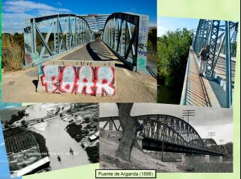 El puente de Arganda sobre el Jarama