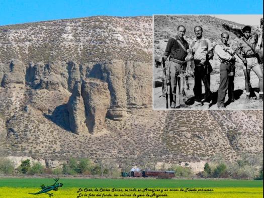 Las colinas de yeso de Arganda, escenario de la batalla.