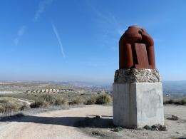 Monumento a la batalla del Jarama en Morata de Tajuña, de Martín Chirino.
