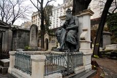 Tumba de Daniel Ifla Osiris, en el cementerio de Montmartre