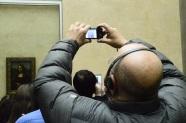 La Gioconda, el cuadro menos visto del mundo, pero el más fotografiado.