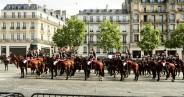 Desfile en los Champs Élysées