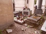 James Douglas Morrison. Jim Morrison. Cantante de The Doors. Murió con 27 años. Père Lachaise, París.