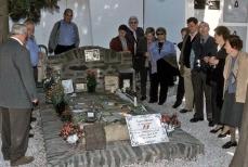 Tumba de Antonio Machado, en Colliure.