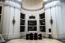 Panteón de la Casa de Alba en el Monasterio de la Encarnación, en Loeches, igual al panteón real en el Monasterio de San Lorenzo del Escorial