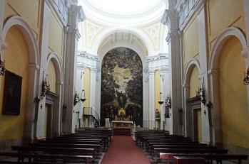 Interior del Monasterio de la Encarnación, en Loeches.