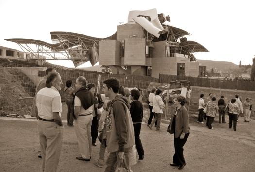 Bodega Marqués de Riscal, Elciego, La Rioja, obra de 2006