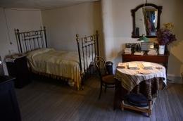 Dormitorio de Machado en la pensión de Segovia.