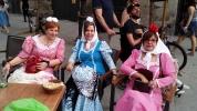 En la Plaza de Ramales, itinerario habitual de Fortunata.