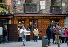 El Restaurante Botín, donde Juanito Santa Cruz celebraba con sus amigotes las correrías de señorito.