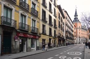La Calle Concepción Jerónima, donde se corría sus farras Juanito Santa Cruz y sus amiguetes disfrutando de Fortunata.