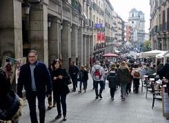 La Calle Toledo, en el corazón de infinidad de novelas de Galdós.