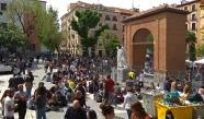 Muy cerca de la Plaza del 2 de Mayo tenían su palomar Galdós y doña Emilia.