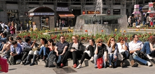 Veraneando en la Puertalsol, mayo de 2011