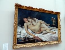 Courbet, au Gran Palais.
