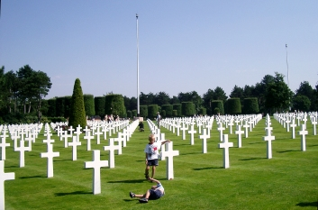 Cementerio de Colleville-sur-Mer