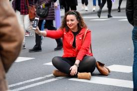 No es no. Domingo, 8 de marzo de 2020. Gran Vía, Madrid