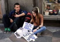 15 M 2011 en la Puerta del Sol