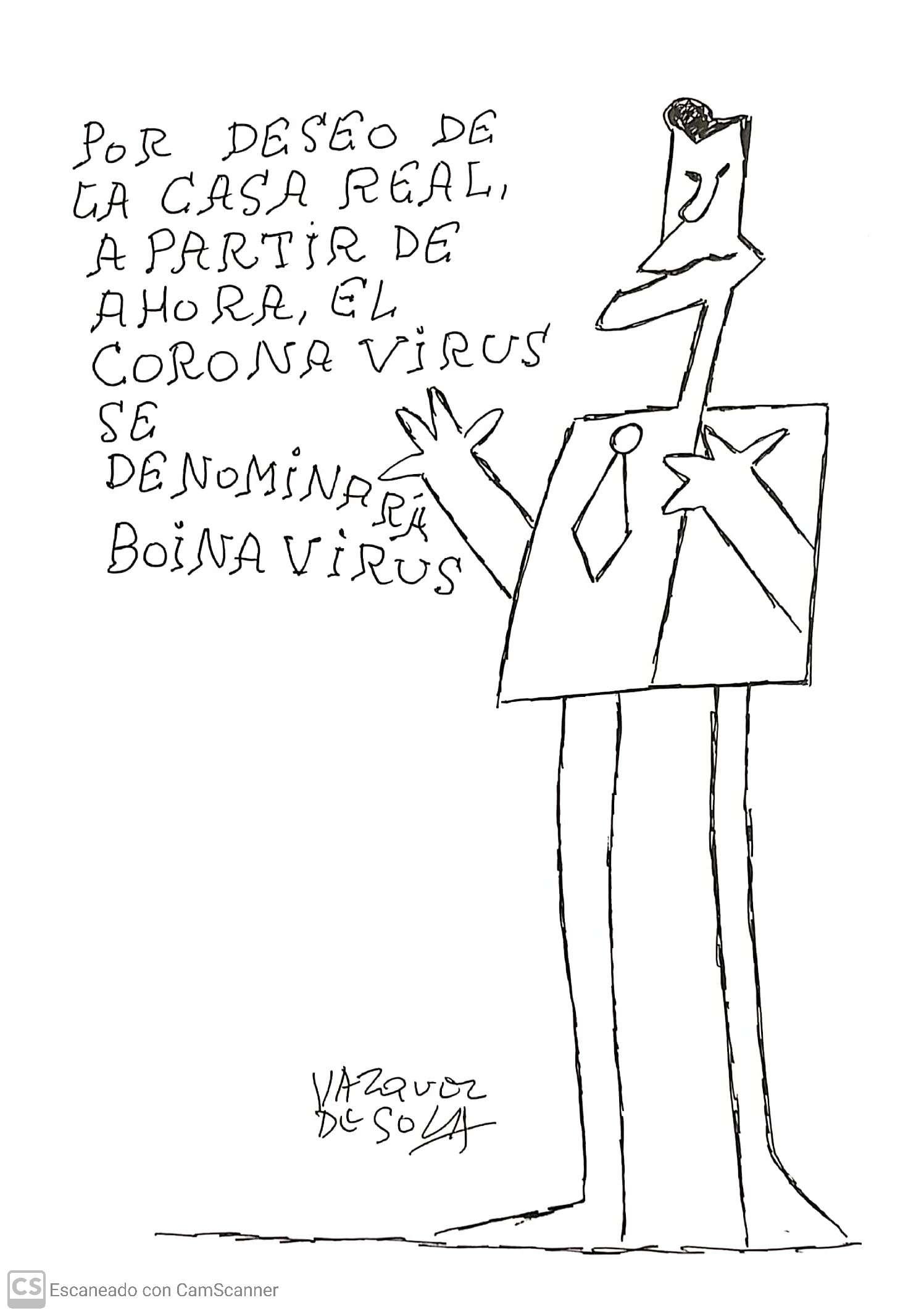 Andrés Vázquez de Sola: Humorista