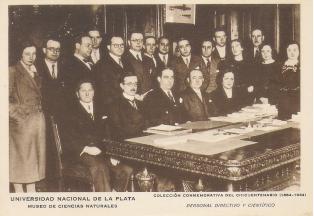 Claustro universitario de La Plata, Argentina, 1934.