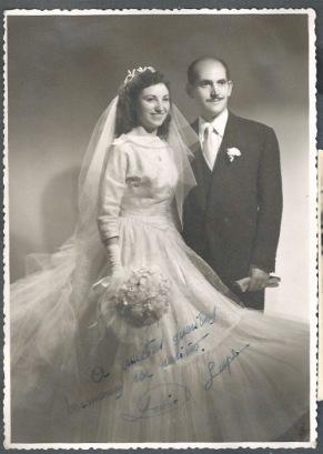 Lupe y Lulio, octubre de 1955