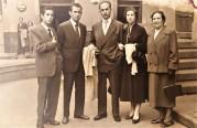 Antonio, Daniel, MIguel, Luisa y la abuela Luisa en fecha indeterminada
