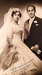 Luisa y Miguel, 9 de noviembre de 1959.
