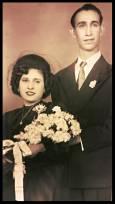 Rosario y Alfonso.1950
